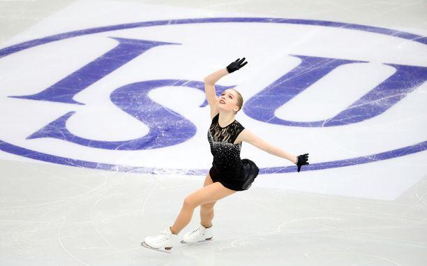 Viveca Lindfors toi Suomeen tammikuussa ensimmäisen taitoluistelun arvokisamitalin sitten Kiira Korven ja vuoden 2012.