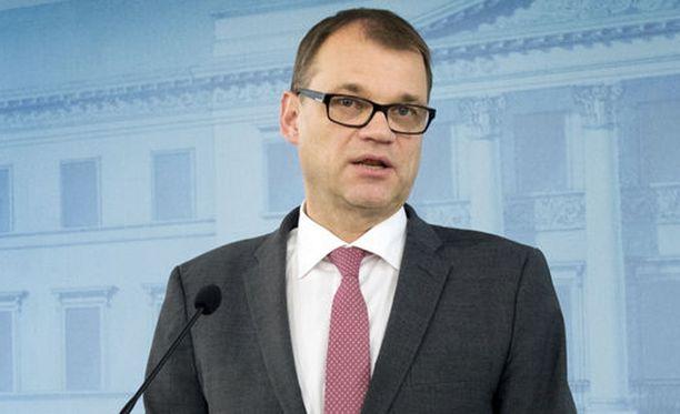 """Juha Sipilä kommentoi Ylelle, ettei sote-prosessi ei hoitunut """"täysien tyylipisteiden"""" mukaan."""