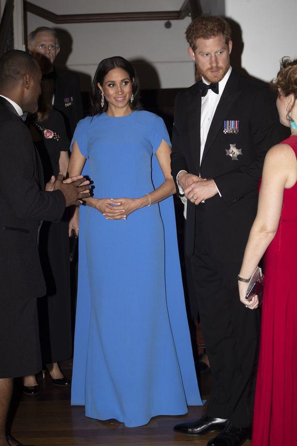 Prinssi Harry kertoi parin viihtyneen erinomaisesti vierailullaan.