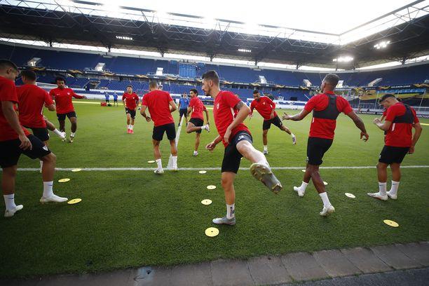 Sevilla lähtee ennakkosuosikkina AS Romaa vastaan Eurooppa-liigassa