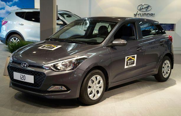 Autoverkkokaupan ykköstuote 12 kuukauden sopimuksella on ollut pieni Hyundai i20.