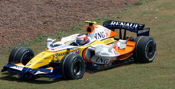 Heikki Kovalaisen GP-kausi päättyi ulosajoon.