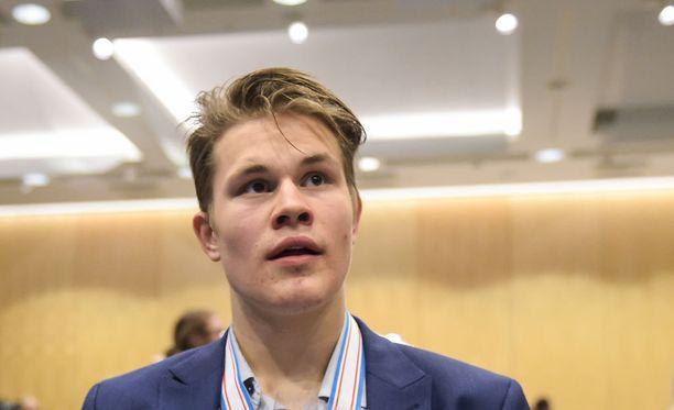 Jesse Puljujärvi voi antaa Oilersille pelivaraa siirtomarkkinoilla.