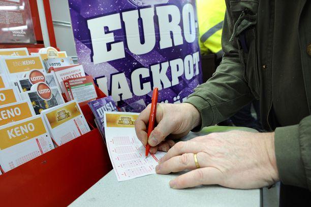 Ensi viikolla Eurojackpot-arvonnassa on jaossa 35 miljoonaa euroa.