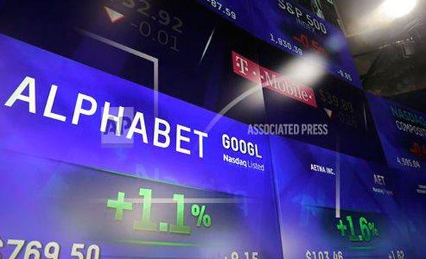 Alphabet on nyt maailman arvokkain yritys.