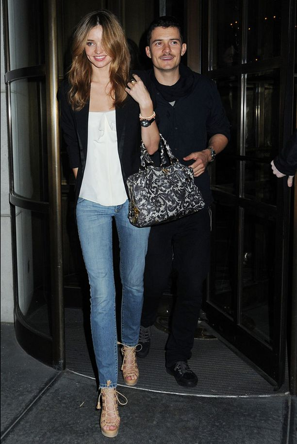 Supermalli ja suosikkinäyttelijä ovat seurustelleet vuodesta 2007 lähtien.