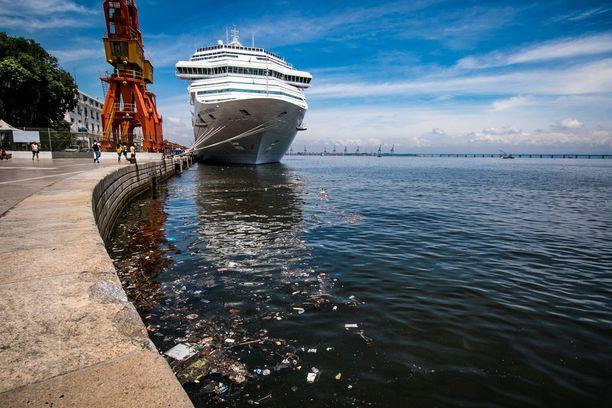 Meksikon Guanabara-lahti on roskainen, ja vedessä on ihmisperäisi taudinaiheuttajia.