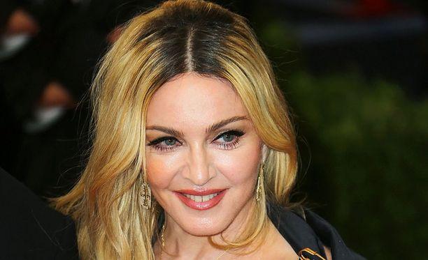 Madonna julkaisi aiemmin tänä vuonna Rebel Heart -albumin.
