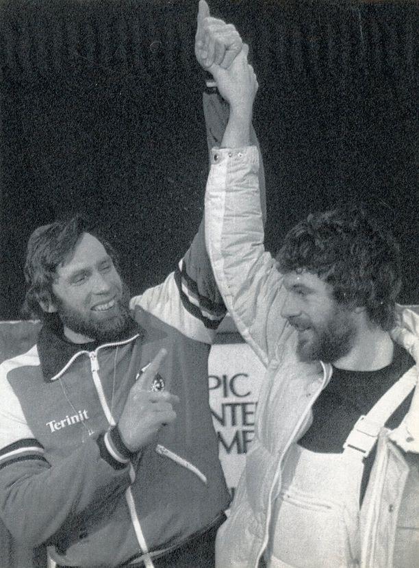 Juha Mieto hävisi olympiakullan Thomas Wassbergille ainoastaan sadasosalla.
