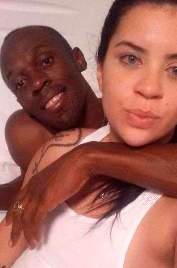 Tämä kuva Usain Boltista ja Jady Duartesta käynnisti meneillään olevan seksiskandaalin.