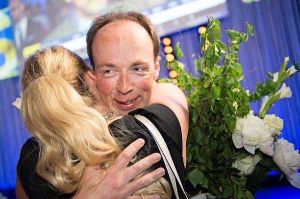 Jussi Halla-aho sai eurovaaleissa toiseksi eniten ääniä Alexander Stubbin jälkeen.
