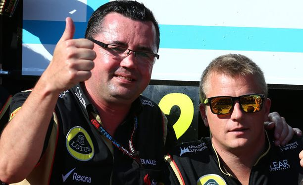 """Kimi Räikkönen ei ole Eric Boullierin mukaan niin """"Jäämies"""" kuin yleisesti ajatellaan."""