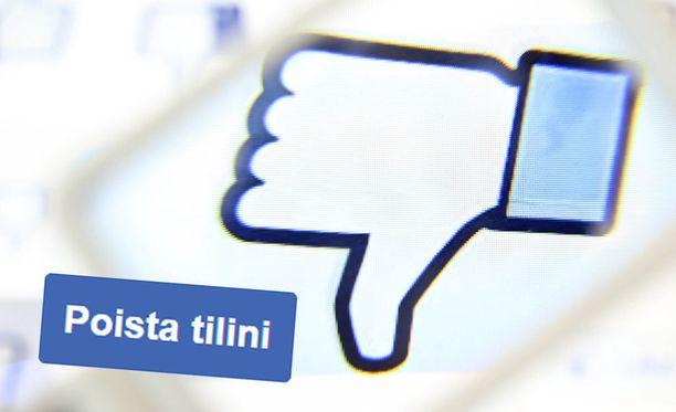 Moni on päätynyt poistamaan Facebook-tilinsä.