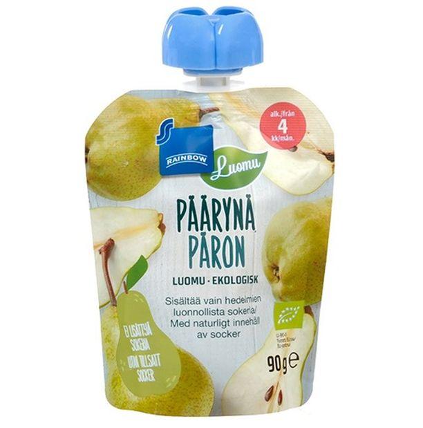 Jos olet ostanut tätä päärynäsosetta ja koodit täsmäävät, palauta tuote heti kauppaan.