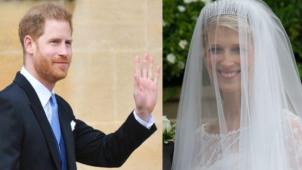 Prinssi Harry edusti yksin lady Gabriella Windsorin häissä.