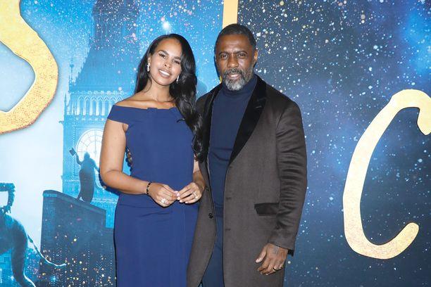 Sabrina Dhowre Elba ja Idris Elba ovat olleet karanteenissa jo pari viikkoa.