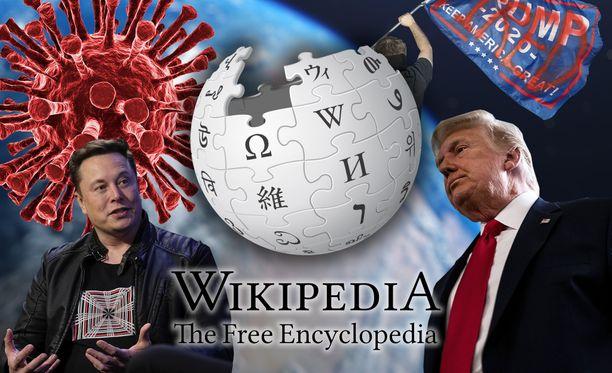 Wikipedia on paljastanut haetuimmat aiheet.