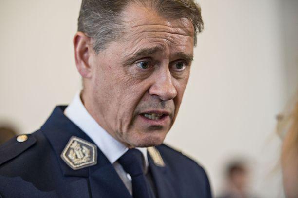 Poliisiylijohtaja Seppo Kolehmaisen mukaan asiakirjavuodosta on tehty rikosilmoitus valtakunnansyyttäjän toimistoon. Arkistokuva.