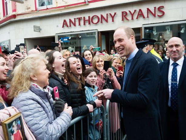 Prinssi William ja herttuatar Catherine vierailivat Irlannissa aiemmin tässä kuussa.