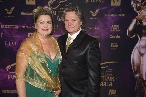 Pepe Willberg ja Pauliina Visuri