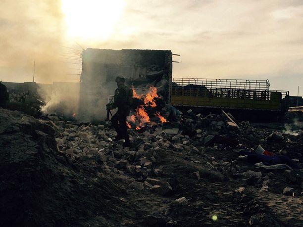 Irakin armeija valloitti Ramadin Isisiltä joulukuun lopulla.