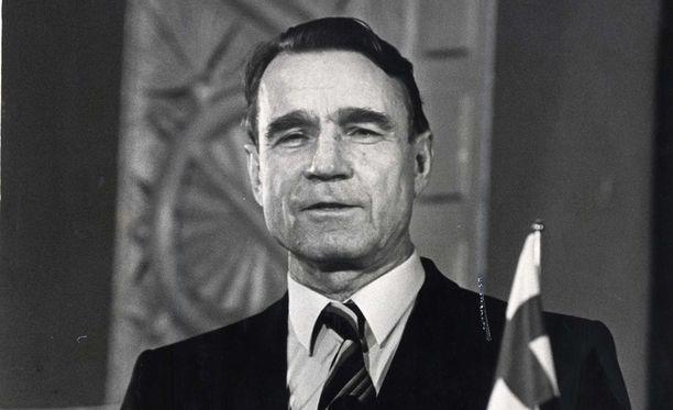 Mauno Koivisto toimi tasavallan presidenttinä vuosina 1982–1994.