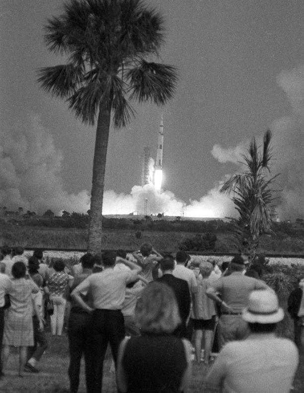 Apollo 13:n lähtölaukaisu ei ollut suuri yleisötapahtuma.