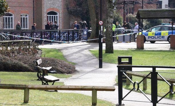 Venäläinen ex-vakooja Sergei Skripal ja hänen tyttärensä Julia löydettiin tajuttomina puistonpenkiltä Salisburyssa maaliskuussa.