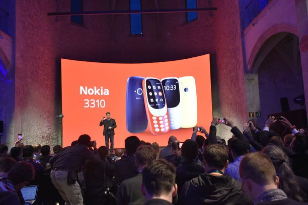 Nokia 3310 on saanut paljon hehkutusta niin Suomessa kuin maailmallakin.