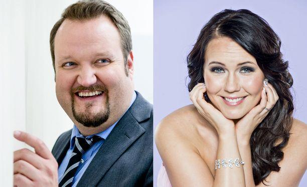 Sami Hedberg ja Saija Tuupanen ovat seurustelleet alkuvuodesta lähtien.