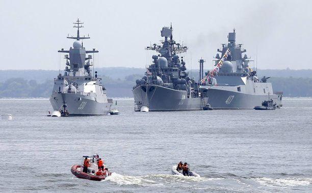 Merireitti Kaliningradin ja Pietarin välillä on elintärkeä Venäjän Itämeren laivastolle.