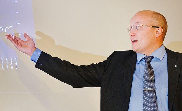 Antti Toivanen aloitti HPK:n toimitusjohtajana toukokuussa 2016.