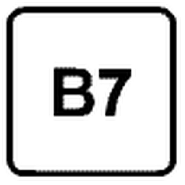 Dieselpolttoaine, jossa on enintään 7 prosenttia biodieseliä. Jos biodieselkomponentteja on enintään 10 prosenttia, niin merkintä on B10.