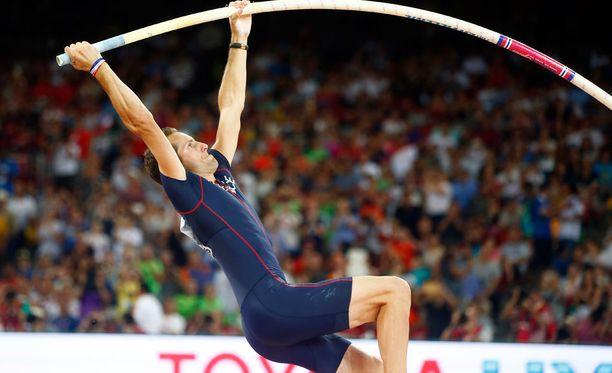 Renaud Lavillenie on yksi yleisurheilun suurimmista tähdistä.