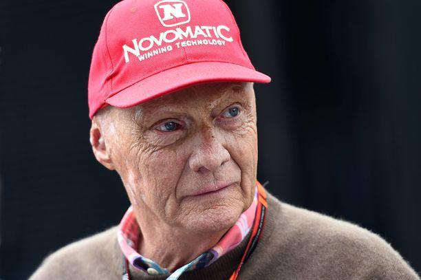 Niki Lauda oli kolminkertainen F1:n maailmanmestari.