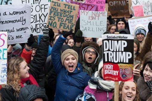 Women's March marssittiin lauantaina.