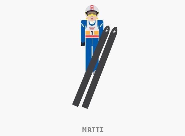 Tältä näyttää Matti Nykäsen oma emoji.