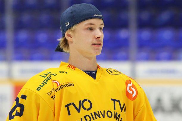 Antti Saarela pelasi mahtavan SM-liigadebyytin.