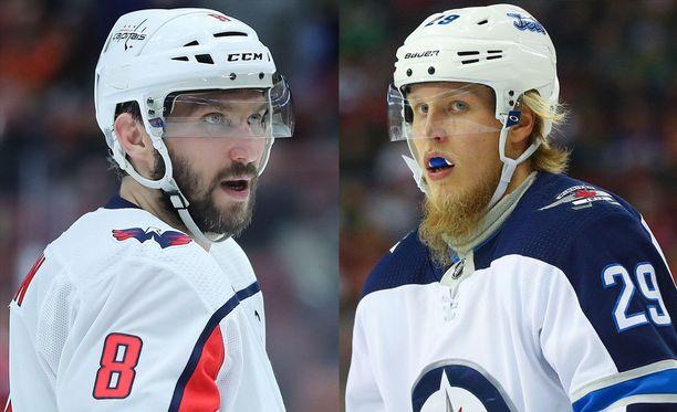 Aleksandr Ovetshkin ja Patrik Laine johtavat NHL:n maalipörssiä 40 maalilla.