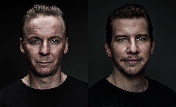 Eero Aho on alikersantti Rokka, Aku Hirviniemi taas alikersantti Hietanen.