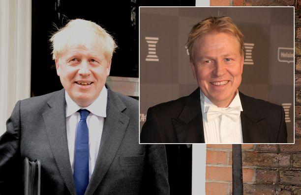 Boris Johnson ja Aki Riihilahti muistuttavat toisiaan.