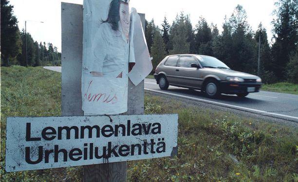 Pyhäselällä on erityinen Lemmenlava. Tai oli ainakin kuvan ottamisen aikaan 14 vuotta sitten.