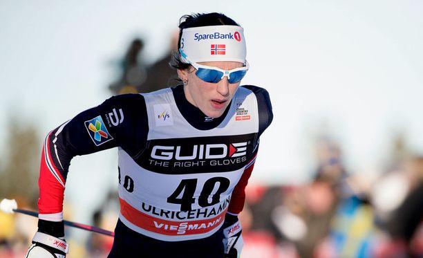 Marit Björgen tulee olemaan Lahden MM-kisoissa vaikea voitettava.