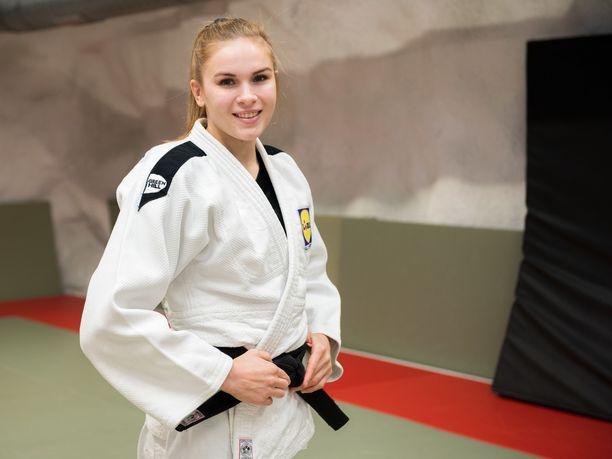 21-vuotias Emilia Kanerva on judokaksi vielä hyvin nuori.