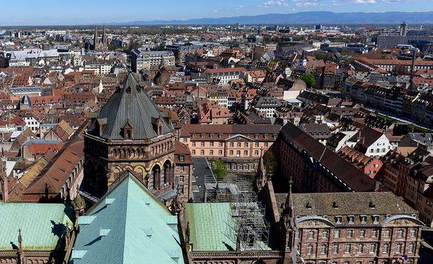 Ranskan Strasbourgissa tapahtuneessa viljasiilon räjähdyksessä loukkaantunut useita.