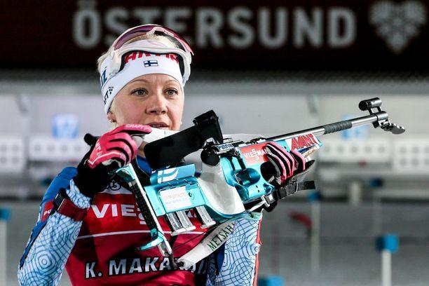 Kaisa Mäkäräinen täyttää ensi vuonna 35 vuotta.