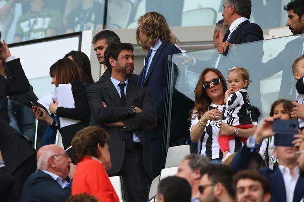 Andrea Agnelli toimii Juventuksen jalkapallojoukkueen puheenjohtajana.