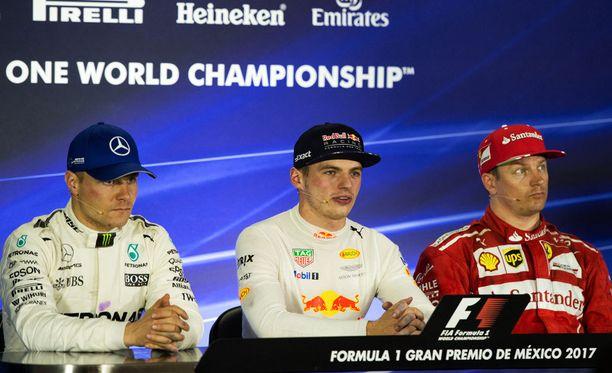 Meksikon GP oli hyvistä sijoituksista huolimatta pienoinen pettymys sekä Valtteri Bottakselle että Kimi Räikköselle. Max Verstappen oli iloinen uransa kolmannesta gp-voitosta.