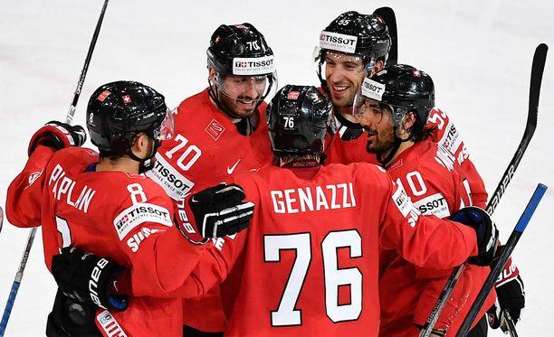 Sveitsi otti vakuuttavan voiton Valko-Venäjästä.