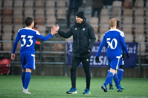 HJK:n päävalmentaja Toni Koskela on pitänyt näkemästään.